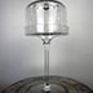 Glass cupcake Pedestal Stand