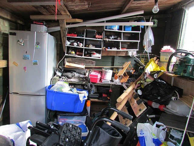 clutter and storage reasons