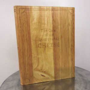 wooden cheese board book