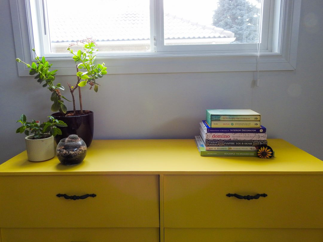 Unshelf Design Studio: Pop of Yellow