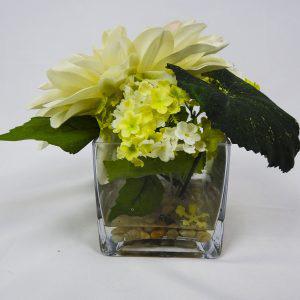 Dahlia flower case