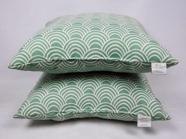circle chevron pillow