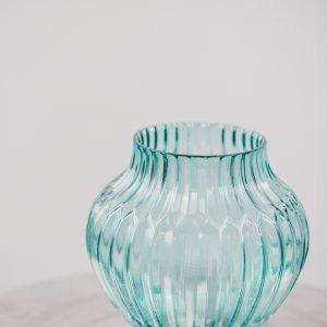 Blue Glass Vase 2