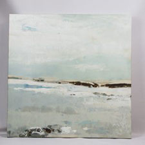 Greige shoreline