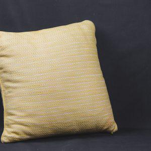 Yellow Square Pillow