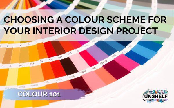 Choosing a Colour Scheme for your Interior Design Project